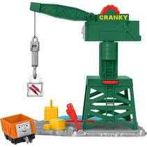hijskraan Cranky the Crane jongens 27 cm groen