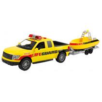 speelset reddingsbrigade junior 48 cm geel 2-delig