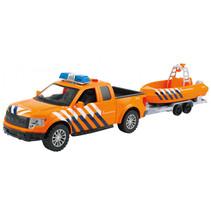speelset reddingsbrigade junior 48 cm oranje 2-delig