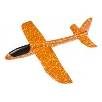 Werpvliegtuig 47 x 49 cm oranje