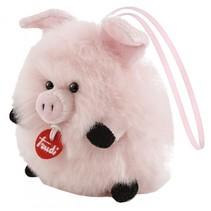 knuffel varken roze 11 cm