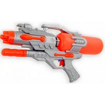 waterpistool junior 46 cm rood/grijs