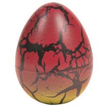 groei-ei draak junior 6 cm rood