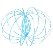 Magic Rings 13 cm blauw