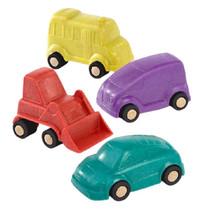 minimobiel voertuigen 9 cm 4-delig
