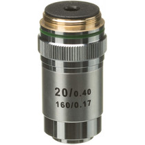 lens DIN-20x 32,2 cm aluminium zilver