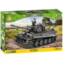 bouwset legervoertuig Sherman junior grijs 801-delig