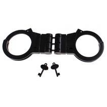 handboeien politie zwart 21 x 7 x 1,5 cm
