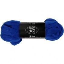 wol Merino 21 micron royal-blauw 100 gram per bol
