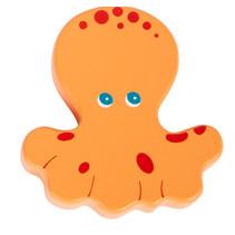 rammelaar Octopus 8 x 6,5 cm hout oranje