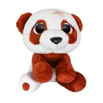 panda junior 15 cm pluche bruin/wit
