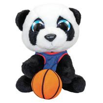 knuffel panda basketbal Lauri junior 15 cm pluche