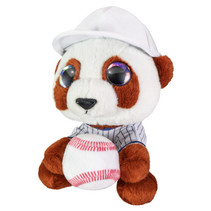 knuffel hond baseball Babe junior 15 cm pluche bruin