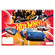 schetsboek Hot Wheels 22 x 33 cm papier blauw/rood