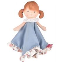 knuffelpop Tine meisjes 24 cm rubber/polyester beige