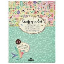 briefpapier Flowers & Friends junior A5 72-delig