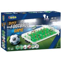 voetbalspel junior 54 cm wit/groen 14-delig