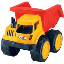 vrachtwagen junior 35 x 19 x 21,5 cm geel