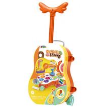 donut-bakset trolley junior oranje 29-delig