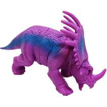 tricepatops dinosaurus paars/blauw