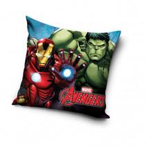 kussen Avengers Iron Man & Hulk 40 x 40 cm polyester