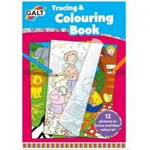 overtrek- en kleurboek 29,5 cm