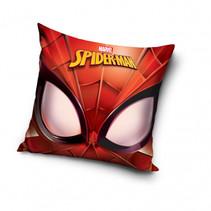 kussen Spider-Man hoofd 40 x 40 cm polyester rood