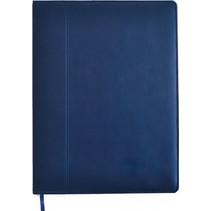 schetsboek A4 papier/kunstleer blauw 200 vellen