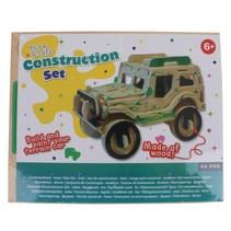 bouwpakket hout jeep 44-delig