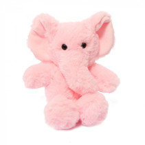 knuffel olifant junior 15 cm polyester roze