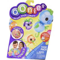 opblaasfiguurtjes Oonies junior multicolor 36 stuks