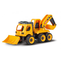 RC loader/graafmachine 40,7 cm oranje/zwart 2-delig