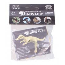 3D-puzzel Daspletosaurus 9 x 7 cm beige