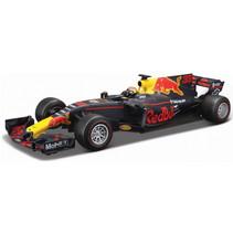 raceauto Max Verstappen 1:18 blauw/rood/geel