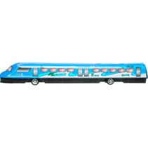 speelgoedtrein Modern Racing junior 37,5 cm blauw