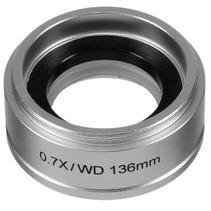 microscoop lens ETD-201 0,7X aluminium zilver