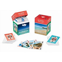 min-speelkaarten Souvenir Sardinië karton 110-delig