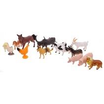 speelgoedset boerderijdieren 52-delig