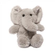 knuffel olifant junior 15 cm polyester grijs