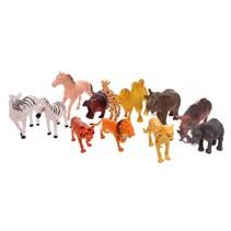 speelgoedset wilde dieren 51-delig