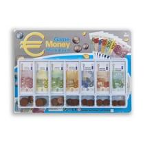 Speelgeld briefjes en munten