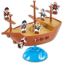 bordspel Piratenboot junior