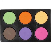 Waterverf 6 kleuren