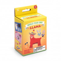 knutselset Vorm je eigen Llama 7 cm rood