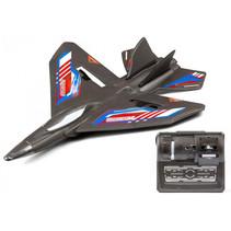 vliegtuig RC X-Twin Evo junior 32 x 24 cm zwart
