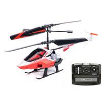 helikopter RC Sniper II junior 24 x 11 cm rood/wit