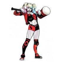 muursticker Harley Quinn 72 x 106 cm vinyl 22-delig