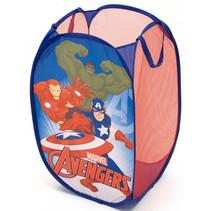 organizer Avengers junior 36 x 58 cm mesh paars/rood
