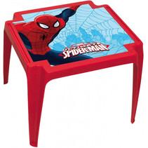 kindertafel Spider-Man 44 x 55 cm polypropyleen rood
