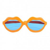 bril Big Kiss junior 20 cm oranje